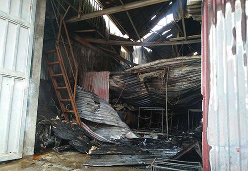 cháy xưởng sản xuất bánh kẹo, tử vong