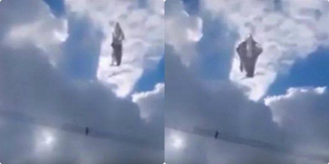 Xôn xao clip vầng sáng hình Quan Thế Âm trên bầu trời, sự thật Bồ Tát đã hiển linh?