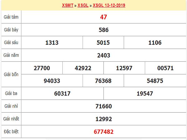 Nhận định KQXSGL ngày 20/12 tỷ lệ trúng cao