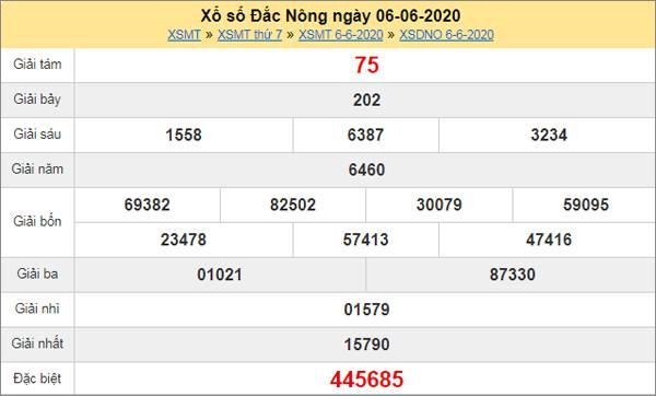 Soi cầu KQXS Đắc Nông 13/6/2020 cùng các chuyên gia
