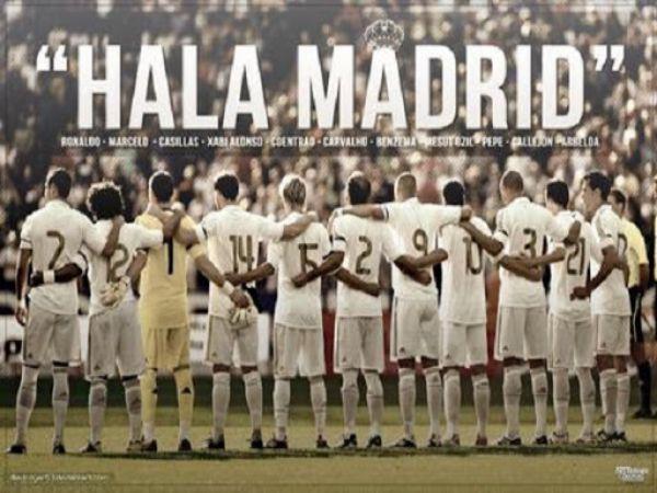 Hala Madrid là gì? Tìm hiểu về bài hát truyền thống của Real