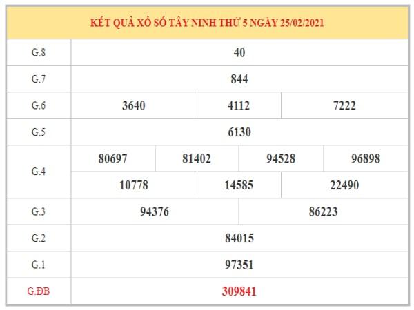 Nhận định KQXSTN ngày 4/3/2021 dựa trên kết quả kỳ trước