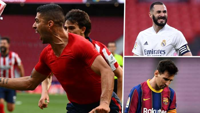 Suarez giữ cho Atletico kiểm soát khi cuộc đua danh hiệu của La Liga