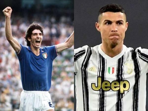 Tin bóng đá 4/8: Ronaldo là người đầu tiên nhận Paolo Rossi