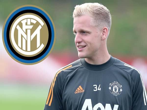 Inter muốn 'giải cứu' Van de Beek